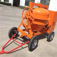 Portable Concrete Mixer without Hopper