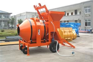 Electrical Reverse Drum Mixer with Mechanical Hopper (RDCM500-17)