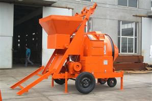 Electrical Reverse Drum Mixer with Mechanical Hopper (RDCM1000-30EHS)
